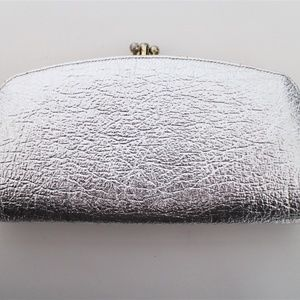 Vintage Silver Wallet or Clutch Evening or Formal